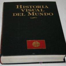 Libros de segunda mano: HISTORIA VISUAL DEL MUNDO - . Lote 31408526