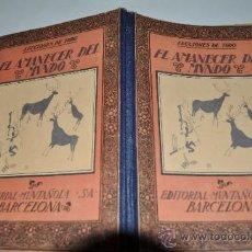 Libros de segunda mano: AMANECER DEL MUNDO CARLES RIBA RA10306. Lote 31873333