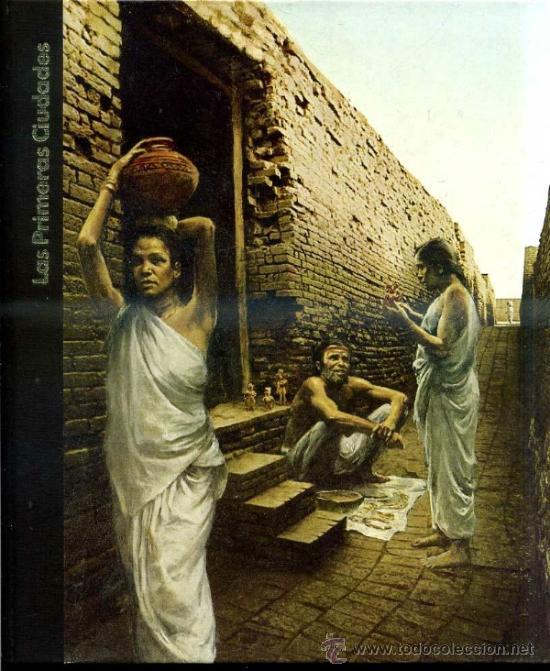 LAS PRIMERAS CIUDADES (TIME LIFE, 1976) MUY ILUSTRADO (Libros de Segunda Mano - Historia Antigua)