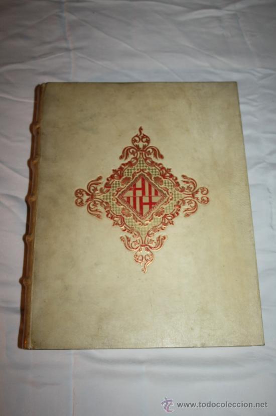 0043-'BARCELONA A TRAVÉS DE LOS TIEMPOS' POR L. PERICOT, A. DEL CASTILLO, J. AINAUD - 1944(2) (Libros de Segunda Mano - Historia Antigua)