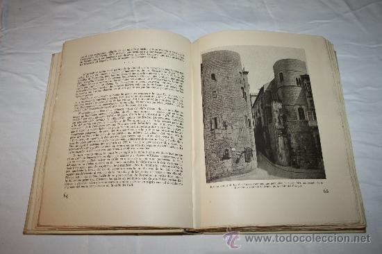 Libros de segunda mano: 0043-'BARCELONA A TRAVÉS DE LOS TIEMPOS' POR L. PERICOT, A. DEL CASTILLO, J. AINAUD - 1944(2) - Foto 8 - 32340500