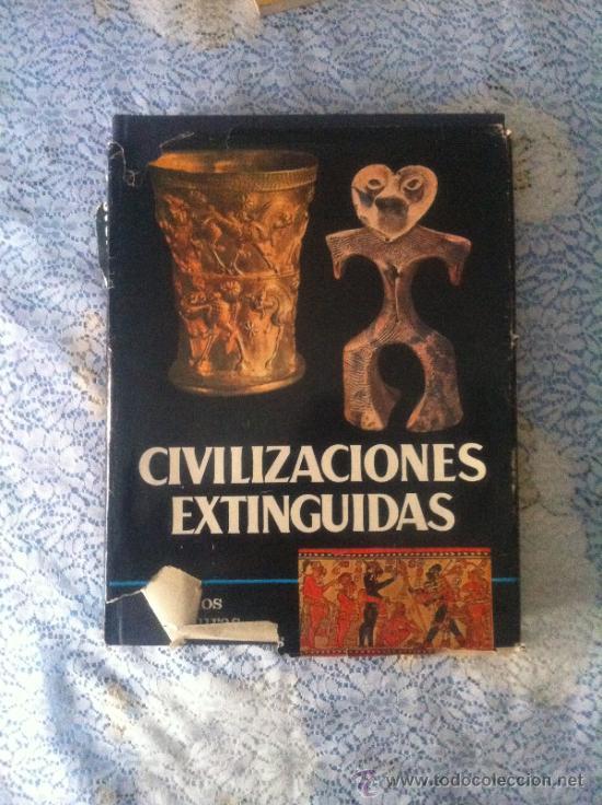 CIVILIZACIONES EXTINGUIDAS. PUEBLOS Y CULTURAS DESAPARECIDAS (Libros de Segunda Mano - Historia Antigua)