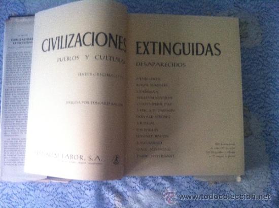Libros de segunda mano: CIVILIZACIONES EXTINGUIDAS. PUEBLOS Y CULTURAS DESAPARECIDAS - Foto 3 - 32348907