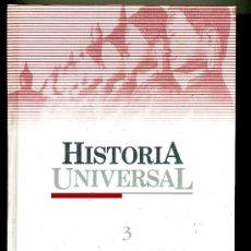 Libros de segunda mano: HISTORIA UNIVERSAL Nº 3 LA ANTIGUEDAD ASIA Y AFRICA- LOS PRIMEROS GRIEGOS- EL PAIS - SALVAT. Lote 32656467