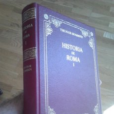 HISTORIA DE ROMA I / THEODOR MOMMSEN