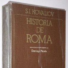 Libros de segunda mano: HISTORIA DE ROMA POR S. I. KOVALIOV DE ED. AKAL EN MADRID 1979 3ª EDICIÓN. Lote 33558743