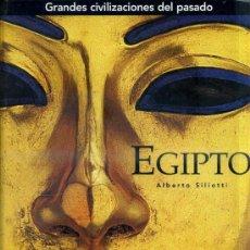 Libros de segunda mano: A. SILIOTTI : EGIPTO (FOLIO, 2005). Lote 33122815