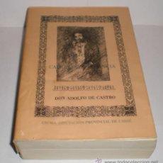 Libros de segunda mano: ADOLFO DE CASTRO - HISTORIA DE CADIZ Y SU PROVINCIA 2 TOMOS. Lote 33754240