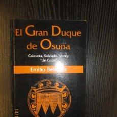 Libros de segunda mano: EL GRAN DUQUE DE OSUNA. Lote 34229241