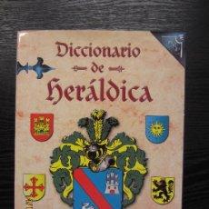 Libros de segunda mano: DICCIONARIO DE HERALDICA. Lote 34230090