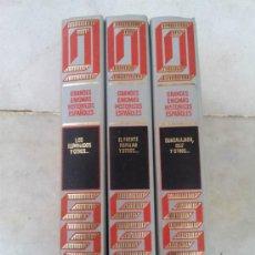 Libros de segunda mano: LOTE DE TRES LIBROS GRANDES ENIGMAS HISTORICOS ESPAÑOLES. Lote 34534484