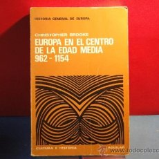 Gebrauchte Bücher - EUROPA EN EL CENTRO DE LA EDAD MEDIA 962-1154 .--CHRISTOPHER BROOKE - 34529387