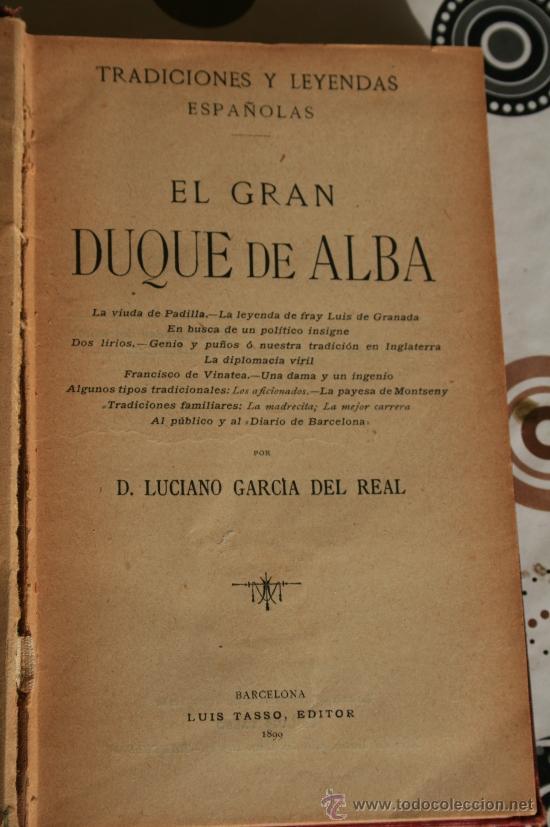 Libros de segunda mano: EL GRAN DUQUE DE ALBA. - Foto 2 - 34929514