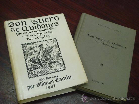 Libros de segunda mano: DON SUERO DE QUIÑONES O EL CABBALLERO LEONÉS (De cómo encontró Cervantes la figura de Don Quijote) - Foto 2 - 35510813