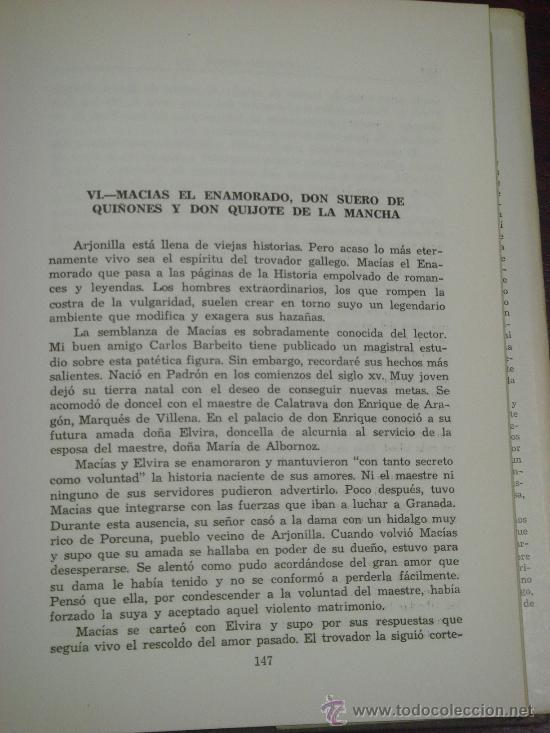 Libros de segunda mano: DON SUERO DE QUIÑONES O EL CABBALLERO LEONÉS (De cómo encontró Cervantes la figura de Don Quijote) - Foto 7 - 35510813