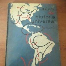Libros de segunda mano: ATLAS DE HISTORIA UNIVERSAL - J. VICENS VIVES - 1968. Lote 35639784