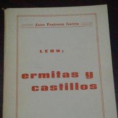 Libros de segunda mano: LEON: ERMITAS Y CASTILLOS. . Lote 36402778