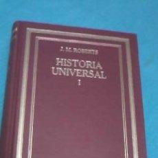Libros de segunda mano: J. M. ROBERTS HISTORIA UNIVERSAL I. EN .. Lote 36434467