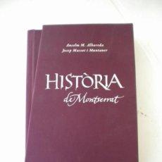 Libros de segunda mano: HISTORIA DE MONTSERRAT, ANSELM M.ALBAREDA I JOSEP MASSOT.EDICIO DE LUXE.. Lote 36816220