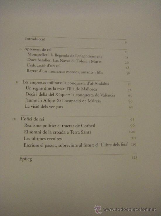 Libros de segunda mano: El rei conqueridor. Jaume I: entre la història i la llegenda (valenciano - catalán) - Foto 4 - 37158082