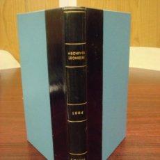 Libros de segunda mano: ARCHIVOS LEONESES. Nº:35ºY36º. 1964.1 VOL. REVISTA ESTUDIO Y DOCUMENTA.DE REINOS HISPANO-OCCIDENTALE. Lote 37360634