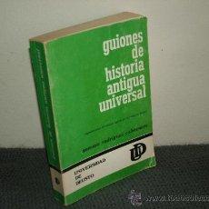 Gebrauchte Bücher - GUIONES DE HISTORIA ANTIGUA UNIVERSAL.RODRIGUEZ COLMENERO.DEUSTO. REF HISTORIA ANTIGUA BS2 - 37786493