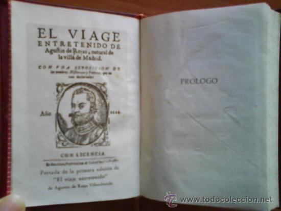 1945 EL VIAJE ENTRETENIDO - AGUSTÍN DE ROJAS / CRISOL 113 (Libros de Segunda Mano - Historia Antigua)