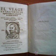 Libros de segunda mano: 1945 EL VIAJE ENTRETENIDO - AGUSTÍN DE ROJAS / CRISOL 113. Lote 37930294
