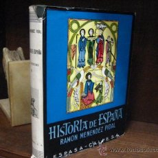 Libros de segunda mano: TOMOS VI HISTORIA DE ESPAÑA ,ESPAÑA CRISTIANA . MENENDEZ PIDAL. Lote 38080927