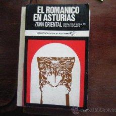 Livros em segunda mão: EL ROMANICO EN ASTURIAS, ZONA ORIENTAL, CRUZ MORALES, CASARES, EMILIO, ( BOLS 8. Lote 38100660