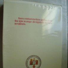 Libros de segunda mano: FURS E ORDINATIONS FETES PER LOS GLORIOSOS REYS DE ARAGO ALS REGNICOLS DEL REGNE DE VALENCIA. . Lote 38656582