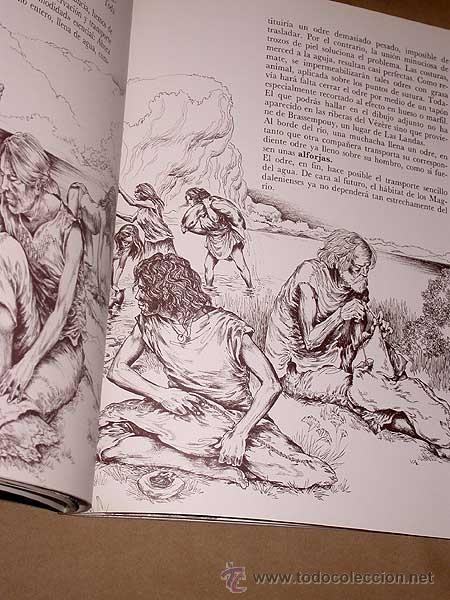 Libros de segunda mano: UN PARAJE DE CAZADORES, ROUFFIGNAC. LOUIS RENE NOUGIER Y VERONIQUE AGEORGES. ED. MENSAJERO, 1988. ++ - Foto 3 - 38770820