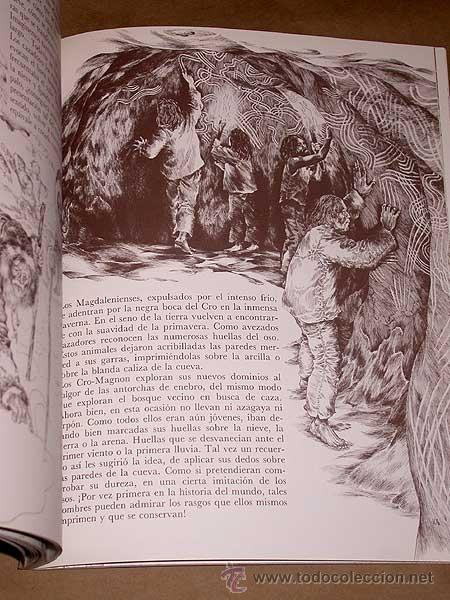 Libros de segunda mano: UN PARAJE DE CAZADORES, ROUFFIGNAC. LOUIS RENE NOUGIER Y VERONIQUE AGEORGES. ED. MENSAJERO, 1988. ++ - Foto 4 - 38770820