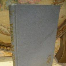 """Libros de segunda mano: """"ORIGENES DE ROMA"""" DE RAYMOND BLOCH. COLECCION VIEJOS PUEBLOS Y LUGARES, 1ª EDICION 1.962.. Lote 38993933"""