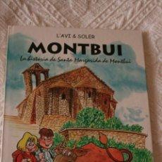 Libros de segunda mano: SANTA MARIA DE MONTBUI HISTORIA. . Lote 39319876