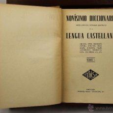 Libros de segunda mano: 3895- NOVISIMO DICCIONARIO DE LA LENGUA CASTELLANA. VV.AA. EDIT HYMSA. S/F. 5 VOL. . Lote 39399732