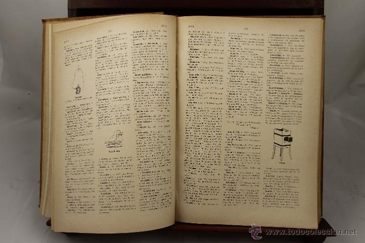 Libros de segunda mano: 3895- NOVISIMO DICCIONARIO DE LA LENGUA CASTELLANA. VV.AA. EDIT HYMSA. S/F. 5 VOL. - Foto 3 - 39399732