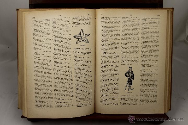 Libros de segunda mano: 3895- NOVISIMO DICCIONARIO DE LA LENGUA CASTELLANA. VV.AA. EDIT HYMSA. S/F. 5 VOL. - Foto 4 - 39399732
