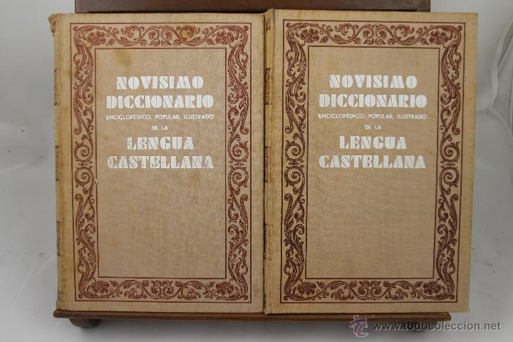 Libros de segunda mano: 3895- NOVISIMO DICCIONARIO DE LA LENGUA CASTELLANA. VV.AA. EDIT HYMSA. S/F. 5 VOL. - Foto 5 - 39399732