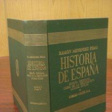Libros de segunda mano: HISTORIA DE ESPAÑA. TOMO XIV: CRISIS DE LA RECONQUISTA. LUCHAS CIVILES. R. MENENDEZ PIDAL. Lote 39738146