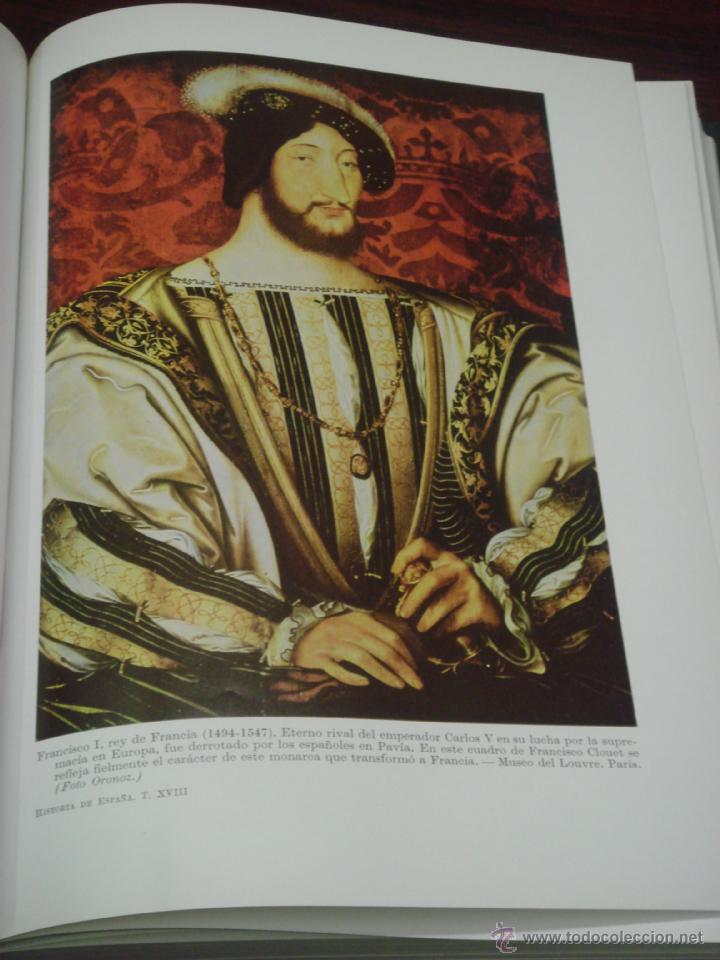 Libros de segunda mano: HISTORIA DE ESPAÑA. TOMO XVIII: LA ESPAÑA DEL EMPERADOR CARLOS V. R. MENENDEZ PIDAL - Foto 6 - 39738437