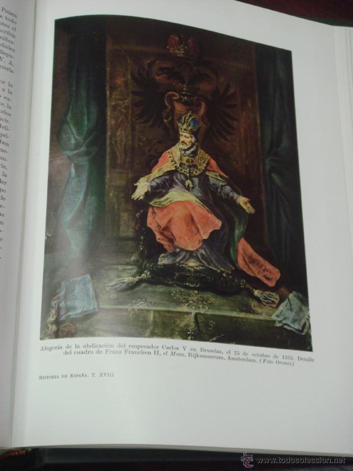 Libros de segunda mano: HISTORIA DE ESPAÑA. TOMO XVIII: LA ESPAÑA DEL EMPERADOR CARLOS V. R. MENENDEZ PIDAL - Foto 11 - 39738437