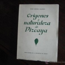 Libros de segunda mano: ORIGENES Y NATURALEZA DE VIZCAYA, ORTEGA GALINDO,, TEMA LOCAL HISTORIA, P7 OFERTA. Lote 40008709