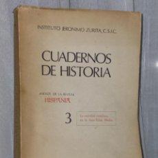 Libros de segunda mano: ESTUDIOS SOBRE LA SOCIEDAD CASTELLANA EN LA BAJA EDAD MEDIA.. Lote 39908080