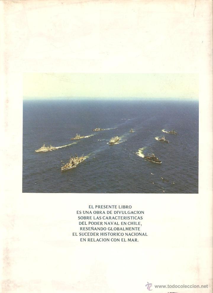 Libros de segunda mano: EL PODER NAVAL CHILENO. REVISTA DE MARINA, VALPARAÍSO, CHILE.----3ª COMPRA ENVÍO GRATIS----- - Foto 2 - 40330007