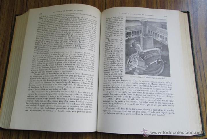 Libros de segunda mano: 2 tomos breviario de la historia del mundo y de la humanidad - según José Pijoan - 1955 - Foto 7 - 40465943