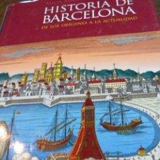 Libros de segunda mano: LIBRO ILUSTRADO HISTORIA DE BARCELONA. Lote 40952878