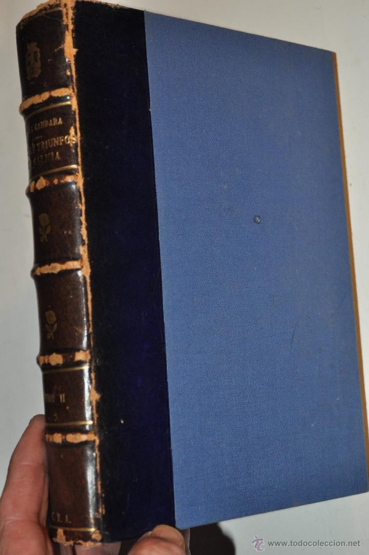 Libros de segunda mano: Armas y Triunfos de los hijos de Galicia. P. FRAY FELIPE DE LA GÁNDARA- RM64335-V - Foto 2 - 41334155