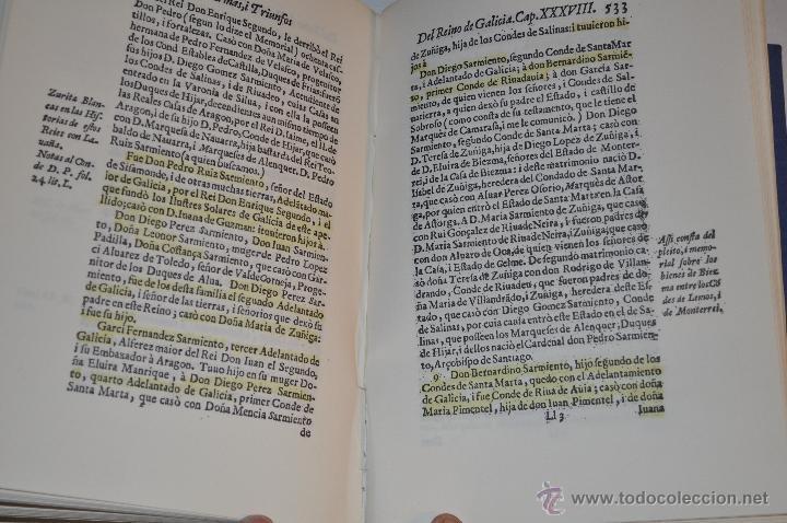 Libros de segunda mano: Armas y Triunfos de los hijos de Galicia. P. FRAY FELIPE DE LA GÁNDARA- RM64335-V - Foto 3 - 41334155