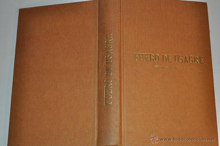 FUERO DE USAGRE (SIGLO XIII). ANOTADO CON LAS VARIANTES DEL DE CÁCERES. RM64387-V (Libros de Segunda Mano - Historia Antigua)